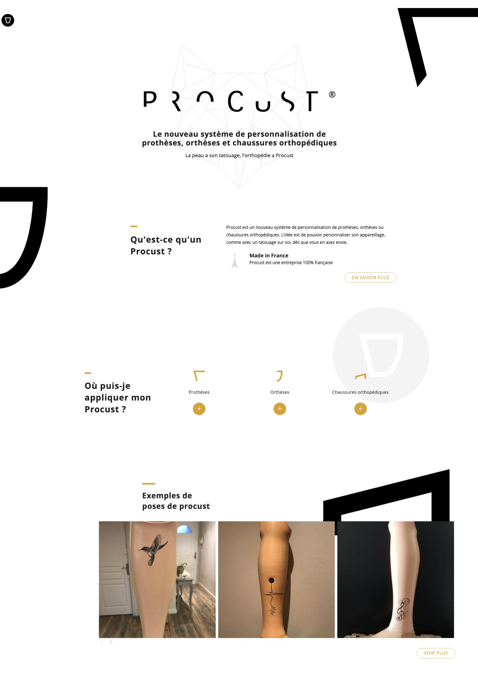 UI UX Design - Procust