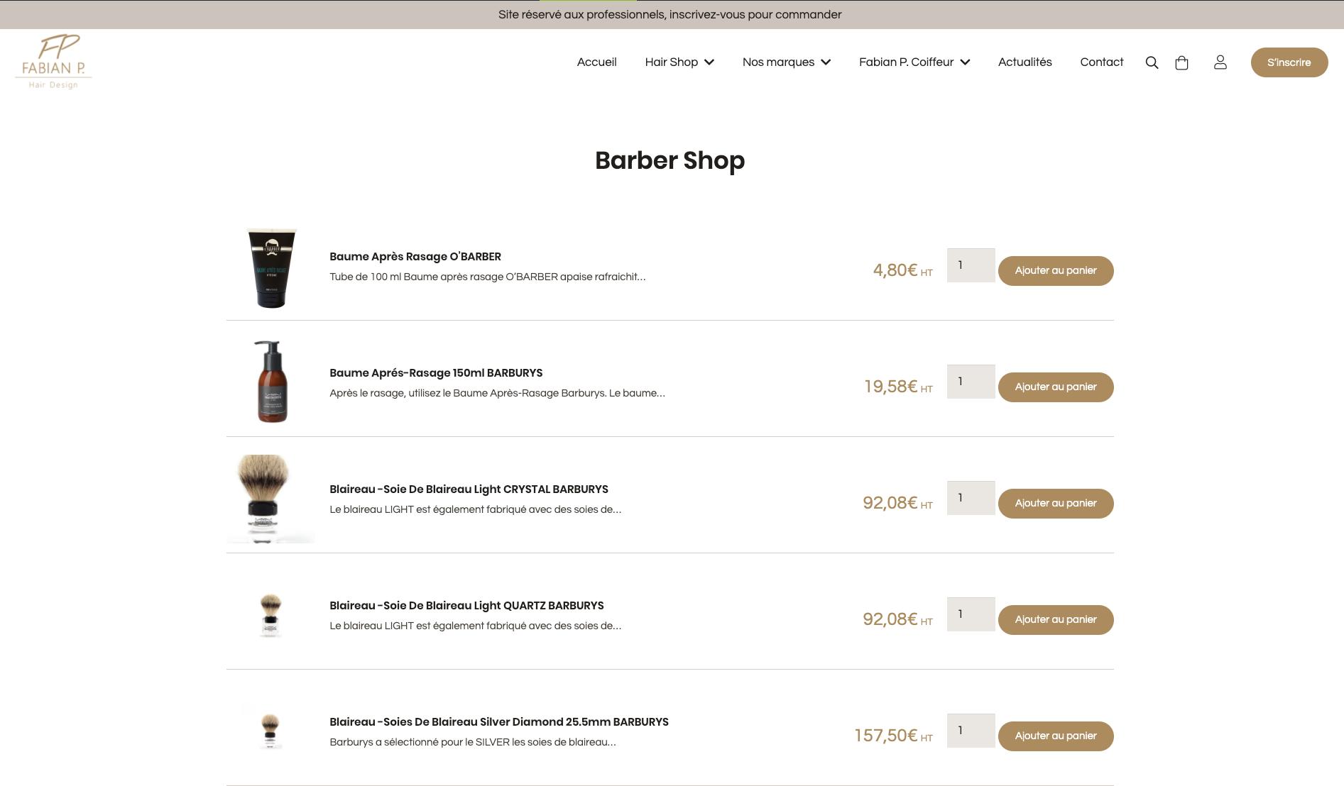 Pages catégories WooCommerce