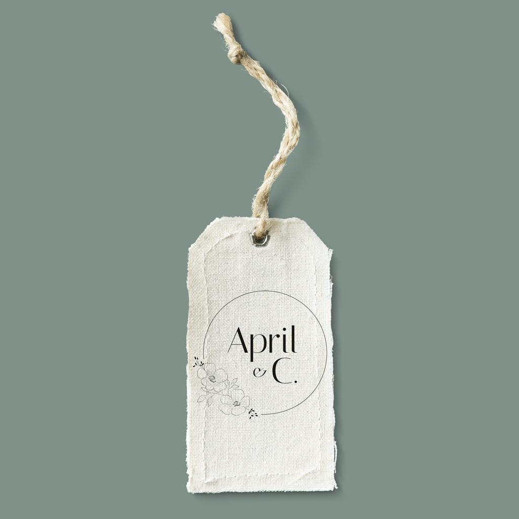 Réalisation logo - April & C