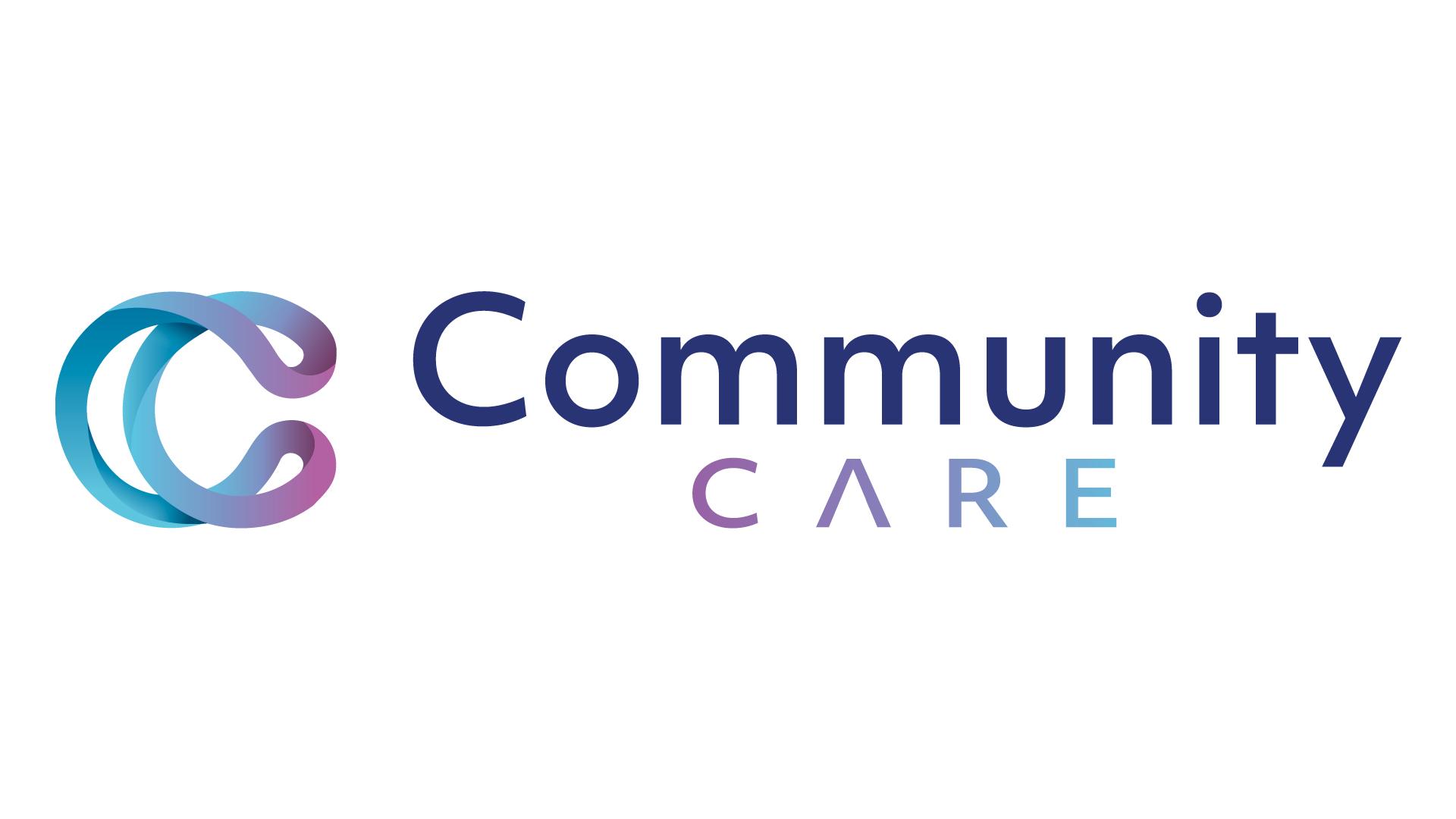 Logo Community Care - Réalisation MC Communication